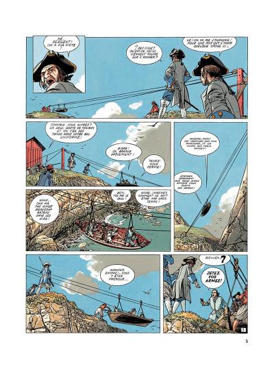 Page 4 l'épervier tome 3 - tempête sur brest