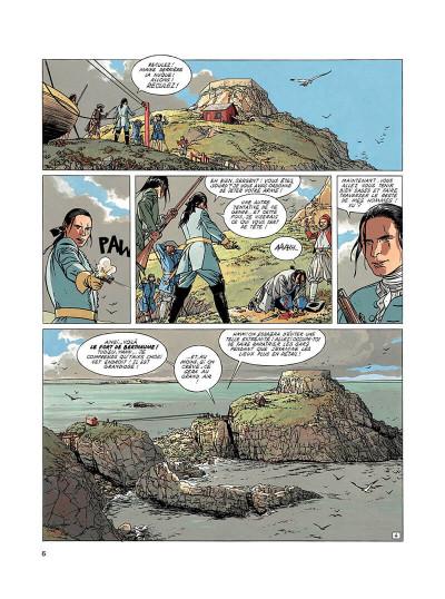 Page 5 l'épervier tome 3 - tempête sur brest