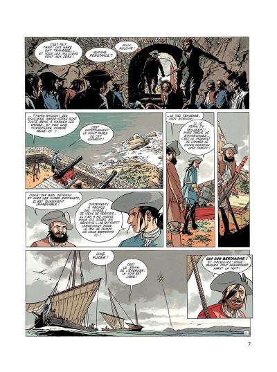 Page 6 l'épervier tome 3 - tempête sur brest