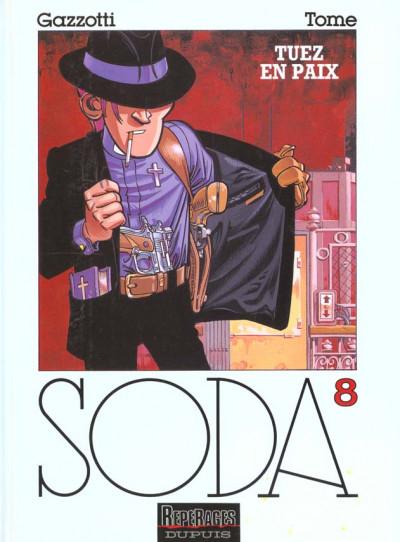 Couverture soda tome 8 - tuez en paix (cartonné)