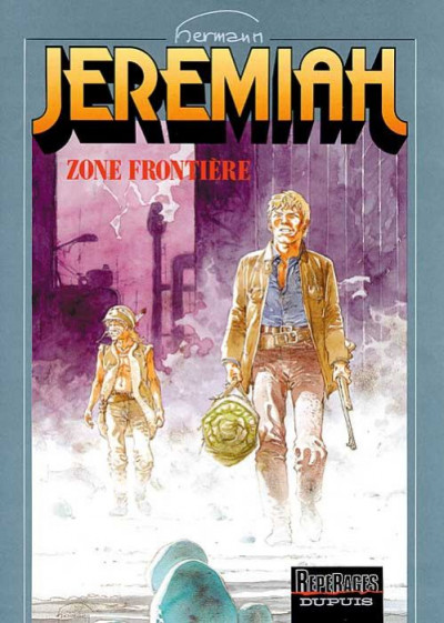 Couverture jeremiah tome 19 - zone frontiere