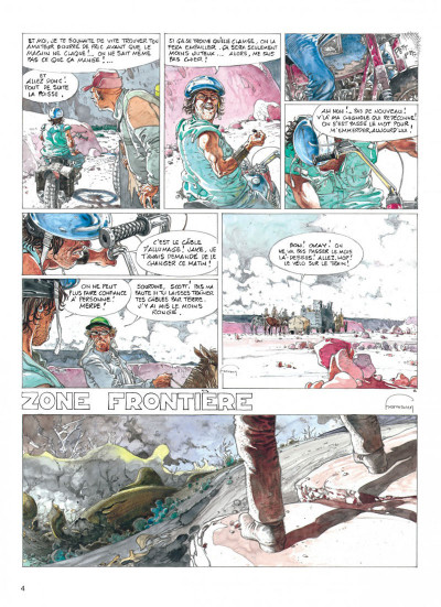 Page 4 jeremiah tome 19 - zone frontiere