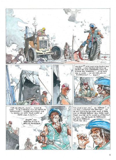 Page 5 jeremiah tome 19 - zone frontiere