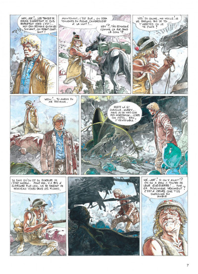 Page 7 jeremiah tome 19 - zone frontiere