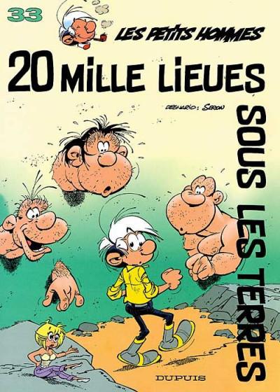 Couverture les petits hommes tome 33 - vingt mille lieues sous les terres