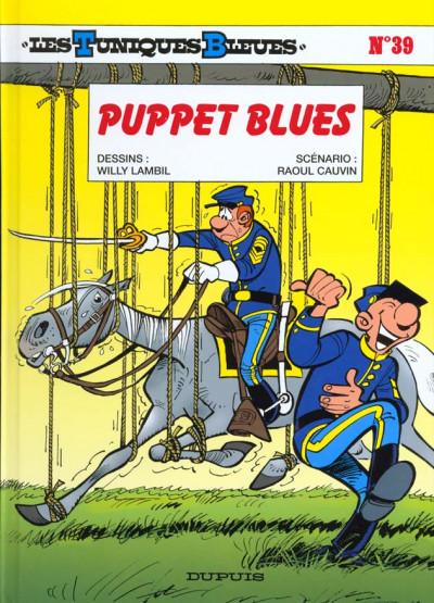 Couverture les tuniques bleues tome 39 - puppet blues