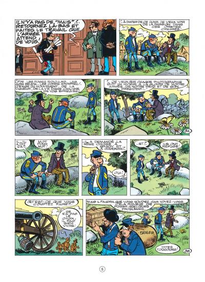 Page 5 les tuniques bleues tome 39 - puppet blues