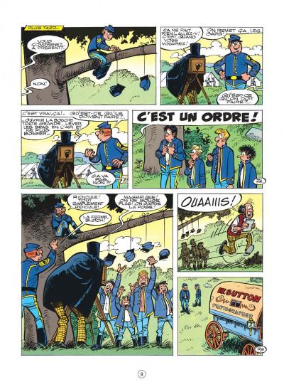 Page 9 les tuniques bleues tome 39 - puppet blues