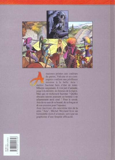 Dos aria tome 19 - sacristar