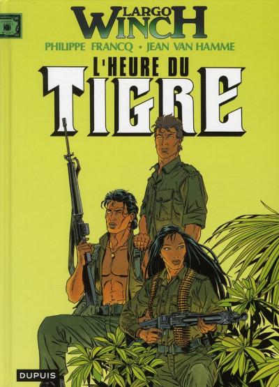 Couverture largo winch tome 8 - l'heure du tigre