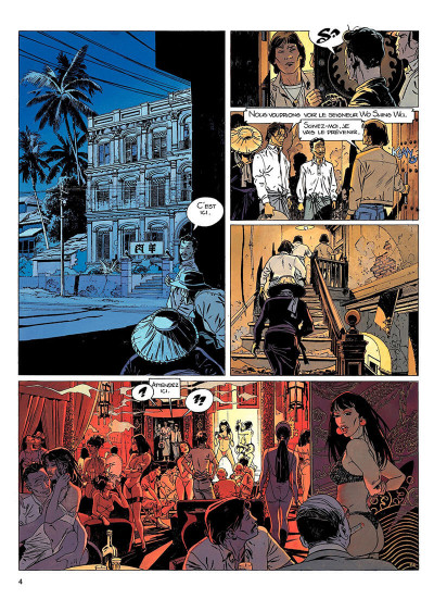 Page 3 largo winch tome 8 - l'heure du tigre