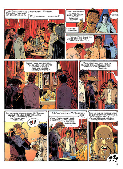 Page 4 largo winch tome 8 - l'heure du tigre
