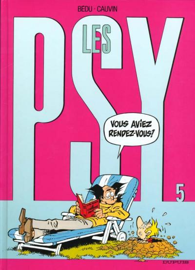 Couverture les psy tome 5 - vous avez rendez-vous ?