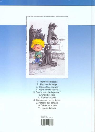 Dos cédric tome 11 - cygne d'étang