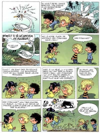 Page 2 cédric tome 11 - cygne d'étang