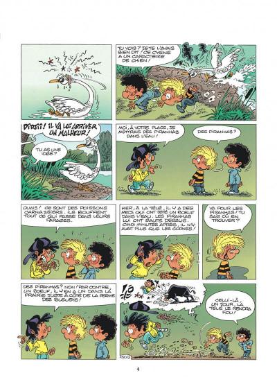 Page 4 cédric tome 11 - cygne d'étang