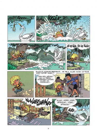 Page 6 cédric tome 11 - cygne d'étang