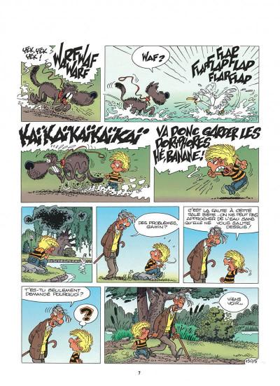 Page 7 cédric tome 11 - cygne d'étang