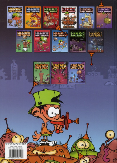 Dos Kid Paddle tome 3