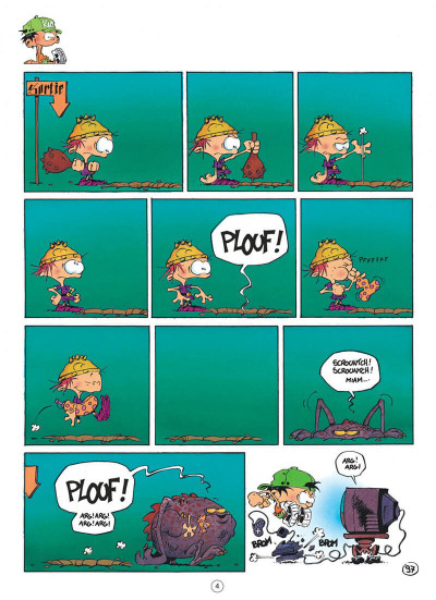 Page 4 Kid Paddle tome 3