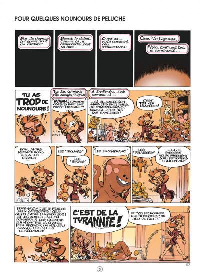 Page 3 le petit spirou tome 7 - demande à ton père