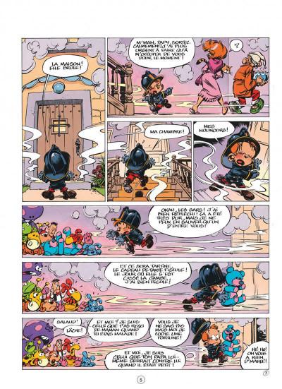 Page 5 le petit spirou tome 7 - demande à ton père