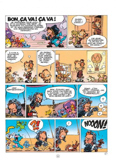 Page 6 le petit spirou tome 7 - demande à ton père