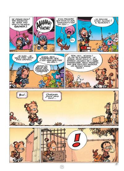 Page 7 le petit spirou tome 7 - demande à ton père