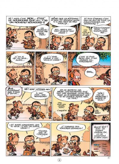 Page 8 le petit spirou tome 7 - demande à ton père