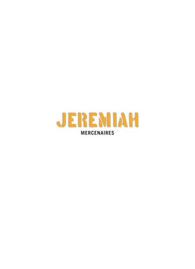 Page 1 Jeremiah tome 20 - mercenaires