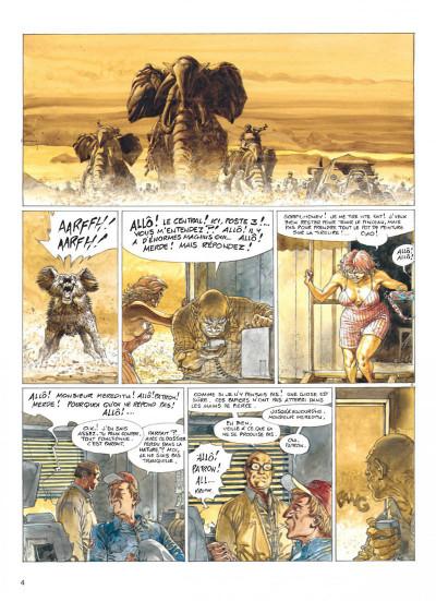 Page 4 Jeremiah tome 20 - mercenaires
