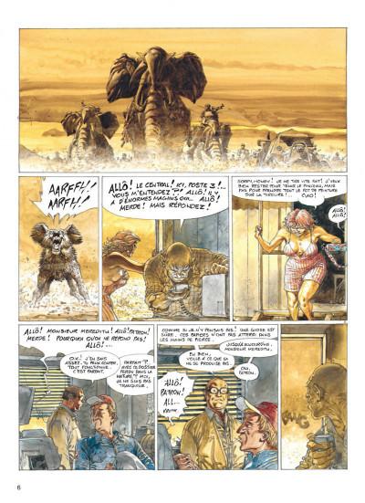 Page 6 Jeremiah tome 20 - mercenaires