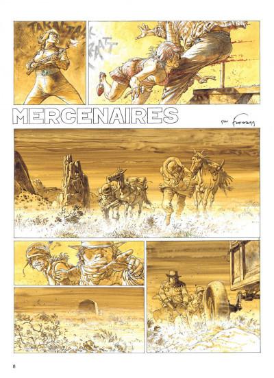 Page 8 Jeremiah tome 20 - mercenaires