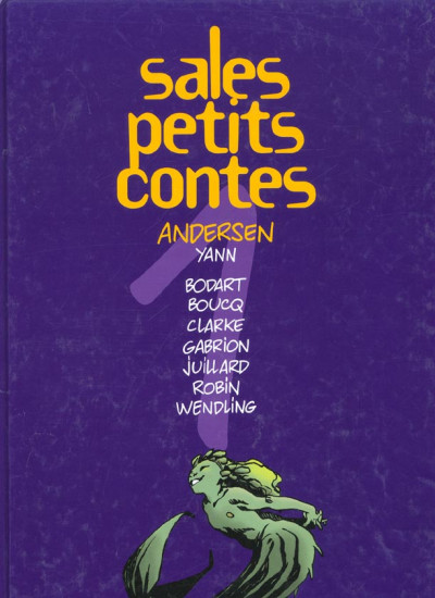 Couverture Sales petits contes tome 1 - Andersen