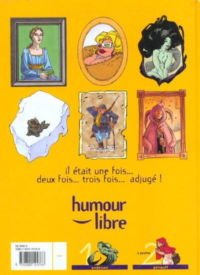 Dos Sales petits contes tome 1 - Andersen