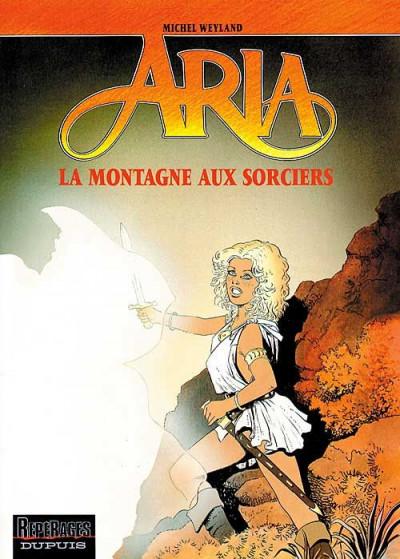Couverture aria tome 2 - la montagne aux sorciers