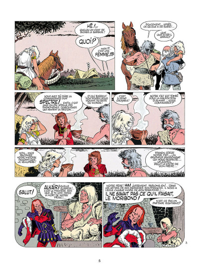 Page 4 aria tome 2 - la montagne aux sorciers