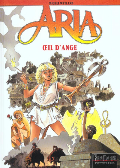 Couverture aria tome 10 - oeil d'ange