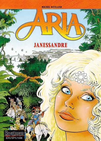 Couverture aria tome 12 - janessandre