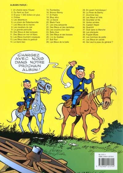 Dos les tuniques bleues tome 40 - les hommes de paille