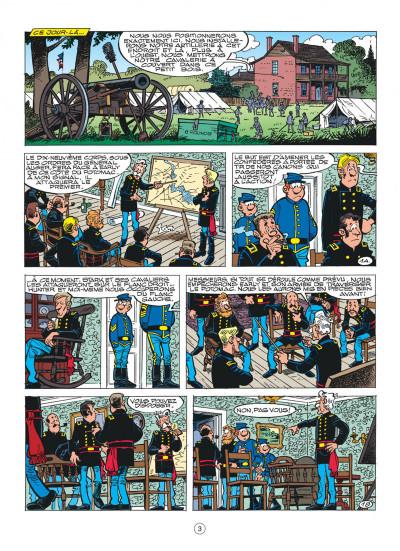 Page 3 les tuniques bleues tome 40 - les hommes de paille