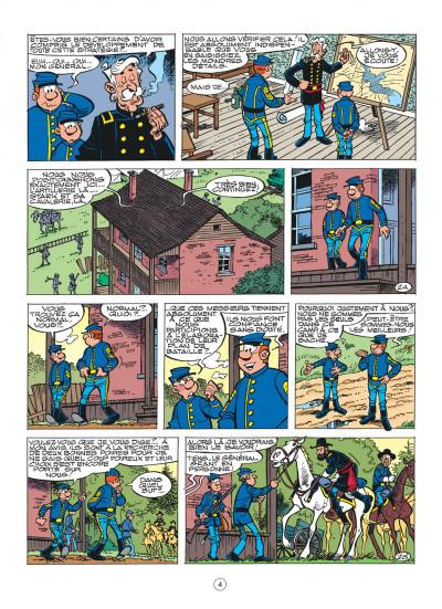 Page 4 les tuniques bleues tome 40 - les hommes de paille