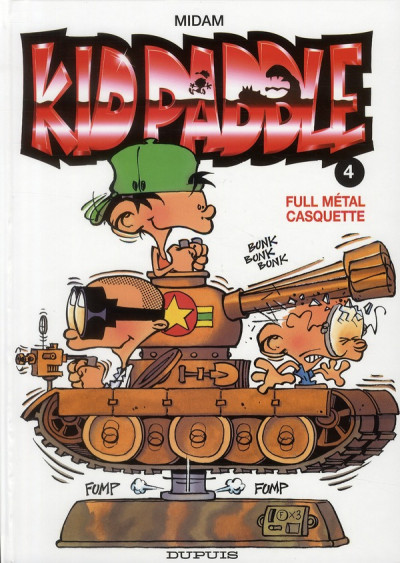 Couverture Kid Paddle tome 4