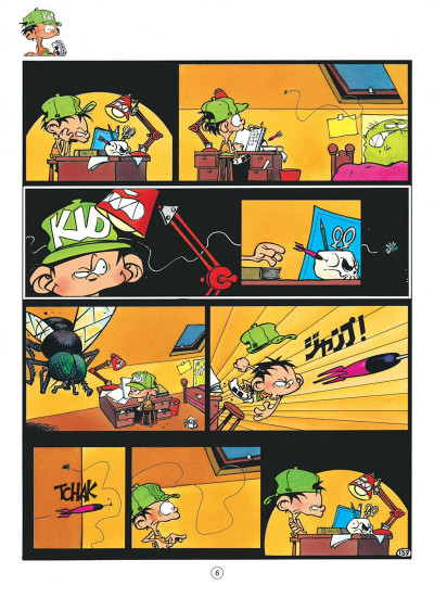 Page 6 Kid Paddle tome 4