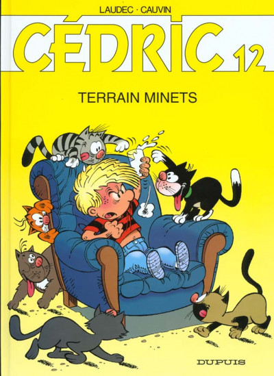 Couverture cedric tome 12 - terrains minets