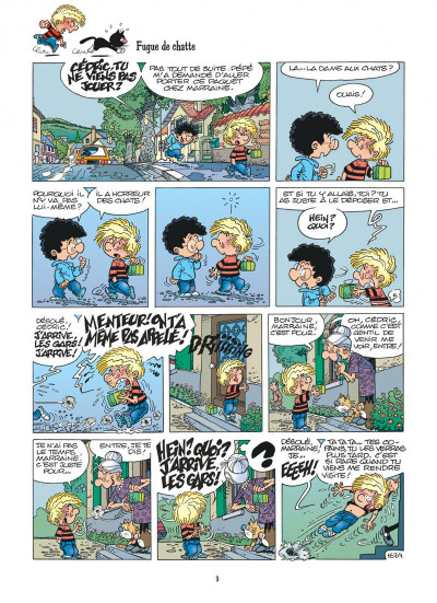 Page 3 cedric tome 12 - terrains minets