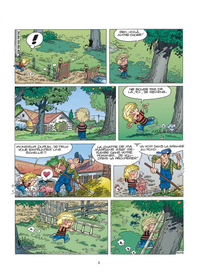 Page 5 cedric tome 12 - terrains minets