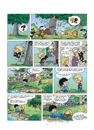 Page 6 cedric tome 12 - terrains minets