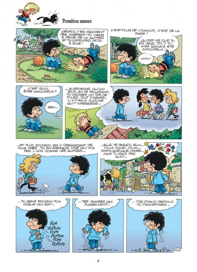 Page 8 cedric tome 12 - terrains minets