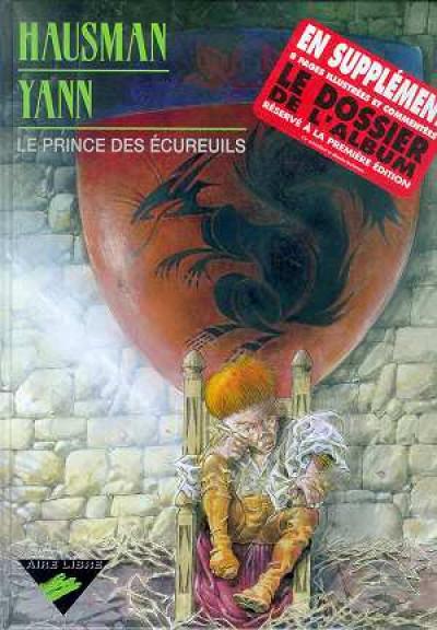 Couverture le prince des écureuils tome 1